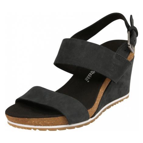 TIMBERLAND Remienkové sandále 'Capri Sunset'  koňaková / čierna