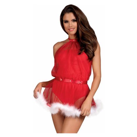 Dámsky erotický kostým Santastic dress Obsessive