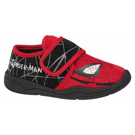 Spiderman - Červené prezuvky Spiderman Spider-Man