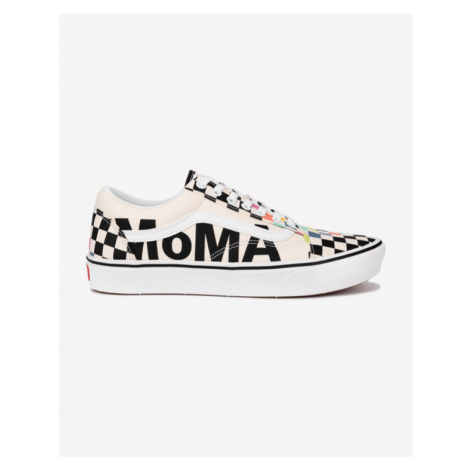 Vans Vans x MoMA ComfyCush Old Skool Tenisky Biela
