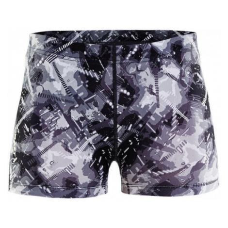 Craft EAZE HOT TIGHTS W biela - Dámské bežecké krátke nohavice