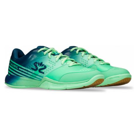 Dámska halová obuv Salming Viper 5 Women Turquoise/Navy