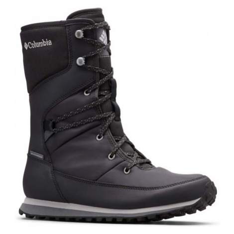 Columbia WHEATLEIGH MID čierna - Dámska zimná obuv