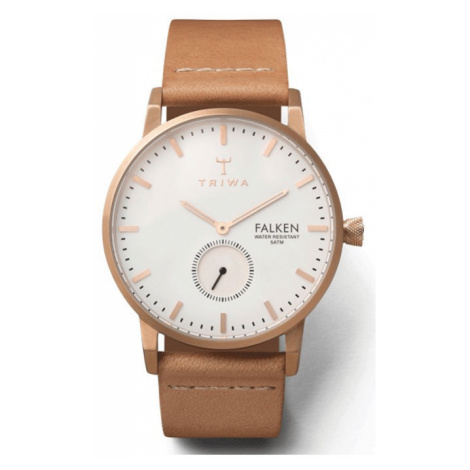 Triwa Rose Falken Tan Classic-One size svetlohnedé FAST101-CL010614-One size