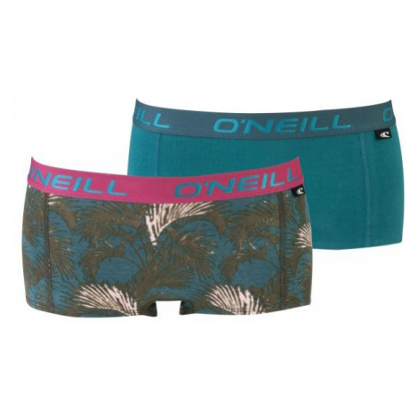 O'Neill HIPSTER WITH DESIGN 2-pack ružová - Dámske nohavičky