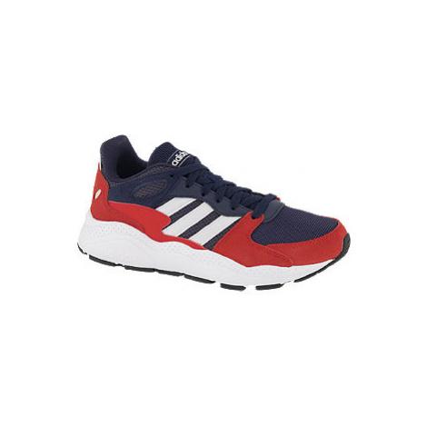 Modro-červené tenisky Adidas Crazychaos K