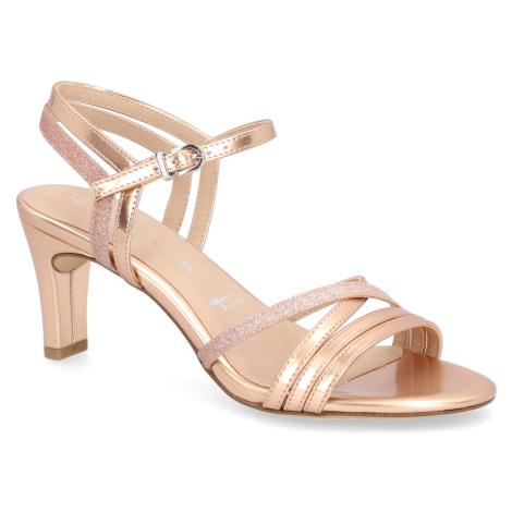 TAMARIS Sandále zlatá