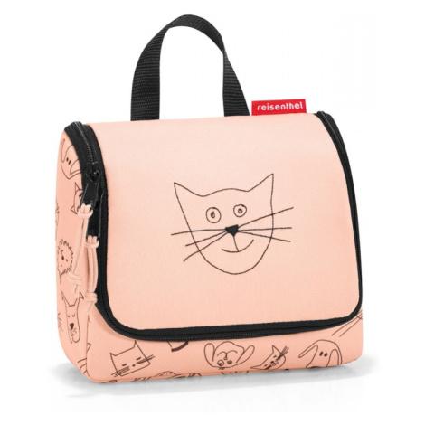 Kozmetická taška Reisenthel Kids S Cats and Dogs Rose