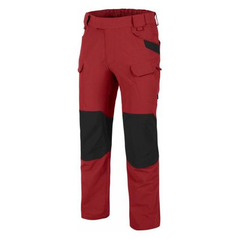 Softshellové kalhoty Helikon-Tex® OTP® VersaStretch® – Crimson Sky / Černá