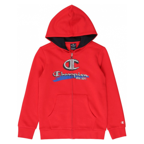 Champion Authentic Athletic Apparel Tepláková bunda  červená