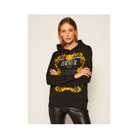 Versace Jeans Couture Mikina B6HZA7TS Čierna Regular Fit