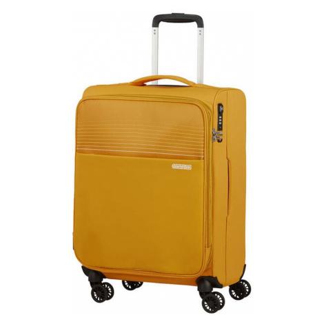 American Tourister Kabínový cestovný kufor Lite Ray EXP 43/48,5 l - žlutá