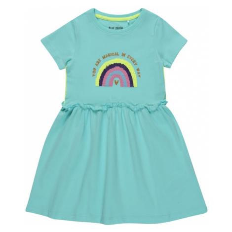BLUE SEVEN Šaty  tyrkysová / kiwi / námornícka modrá / rosé / horčicová