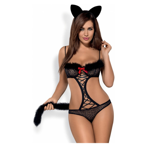 Erotický kostým Gepardina set Obsessive