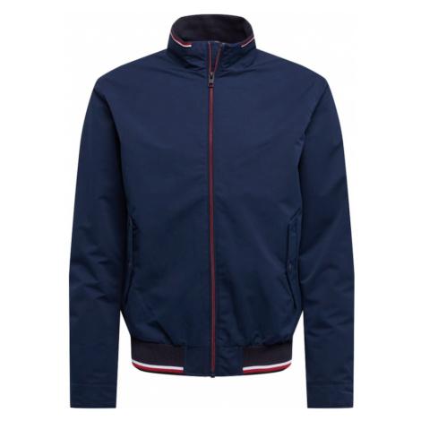 JACK & JONES Prechodná bunda 'CARMAN'  námornícka modrá / biela / červená