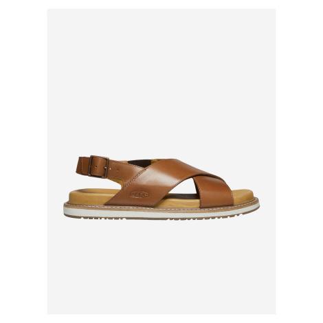 Sandále Keen Lana Cross Strap Sandal W Tortoise Shell/Silver Birch Hnedá