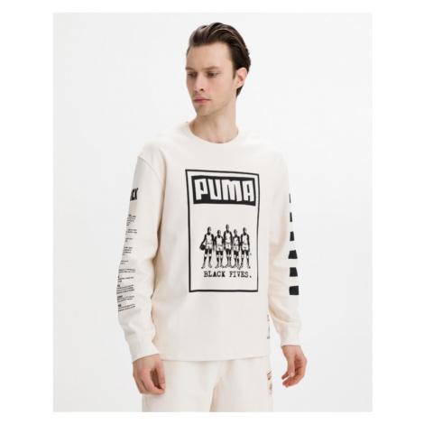 Puma Black Fives Tričko Béžová