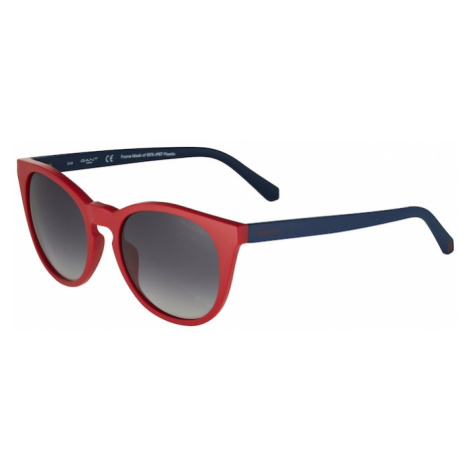 GANT Slnečné okuliare  červená / tmavosivá / námornícka modrá