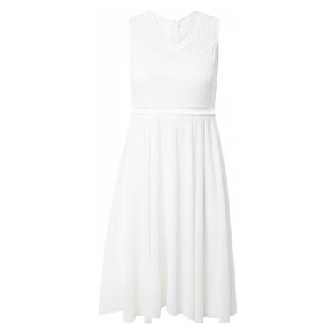 WAL G. Kokteilové šaty  biela