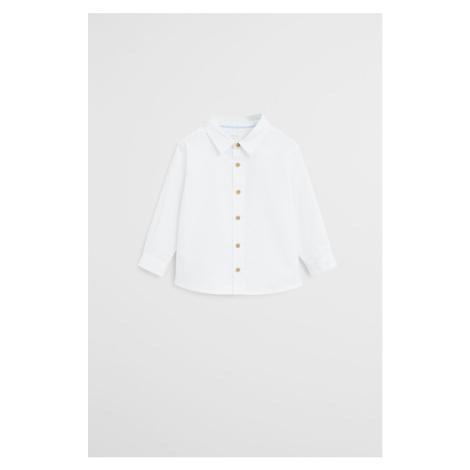 Mango Kids - Detská košeľa Oxford6 80-104 cm