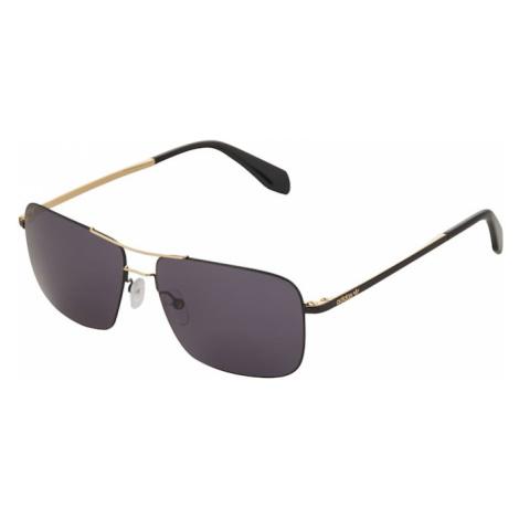ADIDAS ORIGINALS Slnečné okuliare  zlatá / čierna