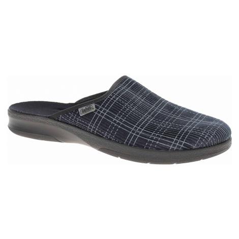 Pánské domácí pantofle Befado 548M010 modrá 548M010