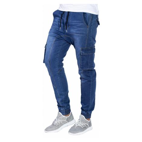 Pánske cargo nohavice Ronin jeansové XL