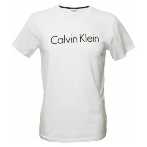 Calvin Klein CK Logo Comfort tričko - biele