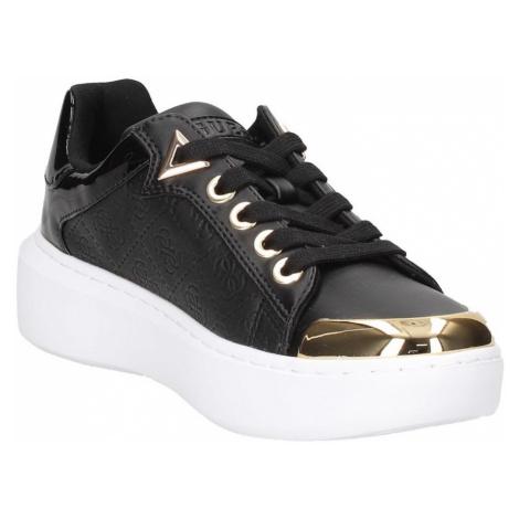 Guess čierne tenisky Brandyn 4Glogo Sneaker