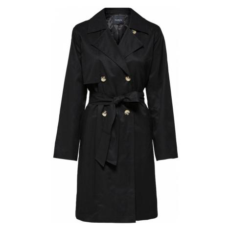 SELECTED FEMME Prechodný kabát 'Weka'  čierna
