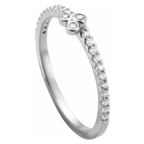 Esprit Strieborný prsteň s kryštálmi Play ESRG005311 mm