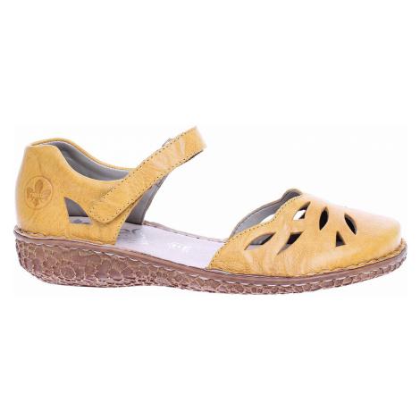 Dámské sandály Rieker M0967-68 gelb M0967-68