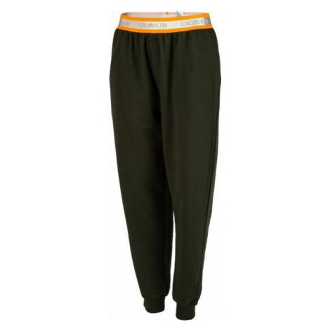 Calvin Klein JOGGER tmavo zelená - Pyžamové nohavice