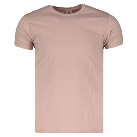 Tričko pánske B&C Basic MILLENNIAL PINK