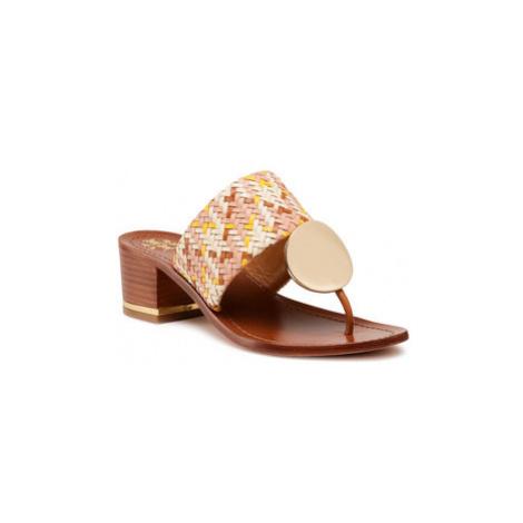 Tory Burch Žabky Patos Disk 45mm Sandal 74005 Béžová