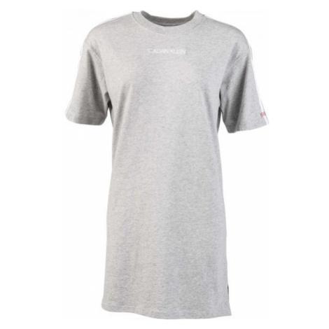 Calvin Klein S/S NIGHTSHIRT šedá - Dámska nočná košeľa
