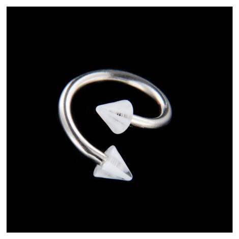 Strieborný piercing 15727