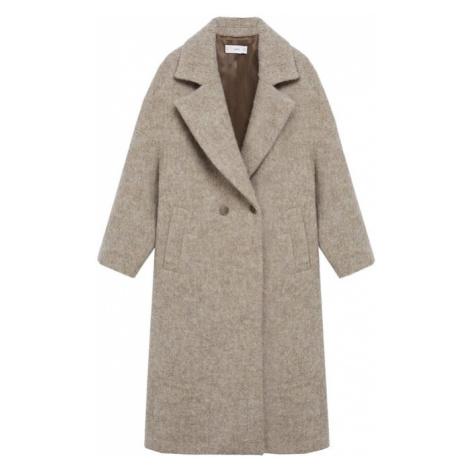 MANGO Zimný kabát 'Gofre'  telová