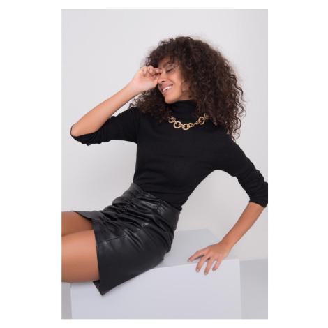 BSL Black draped skirt