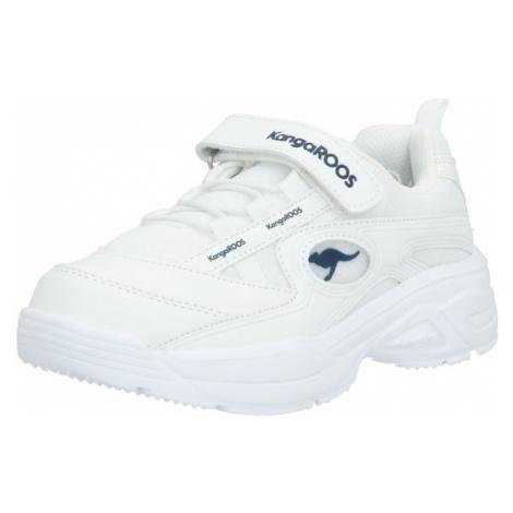 KangaROOS Športová obuv 'Chunky'  biela / čierna