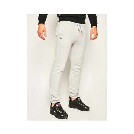 Lacoste Teplákové nohavice XH7611 Sivá Regular Fit