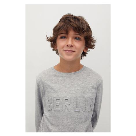 Mango Kids - Detské tričko s dlhým rukávom Berlin 110-164 cm