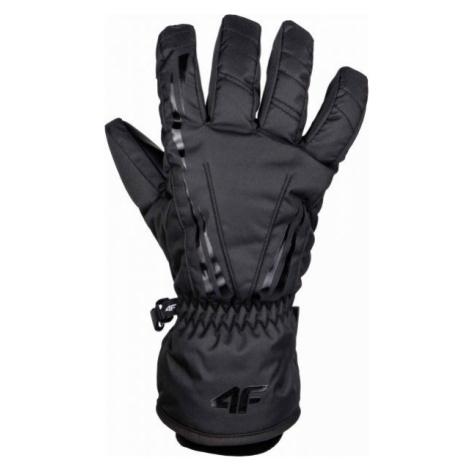 4F SKI GLOVES čierna - Lyžiarske rukavice