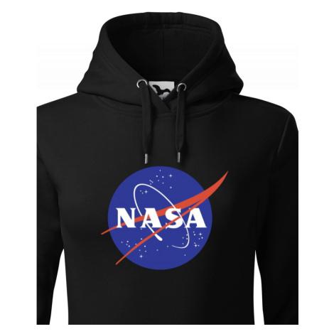 Dámska mikina s potlačou vesmírnej agentúry NASA