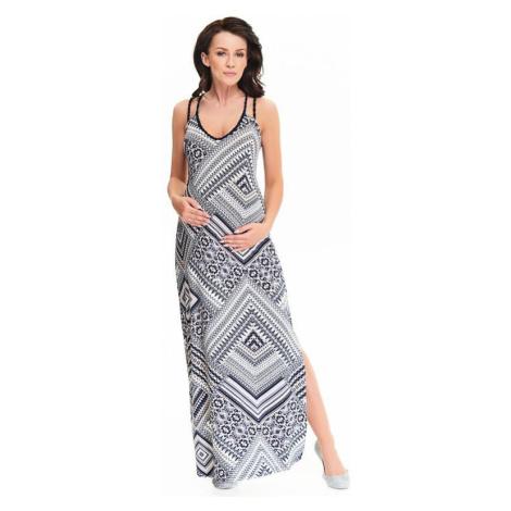Maxi šaty Marion dlhé so vzorom
