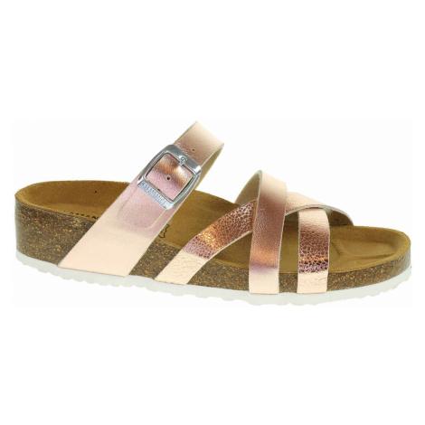Dámské pantofle Salamander 32-13106-33 rosegold 32-13106-33