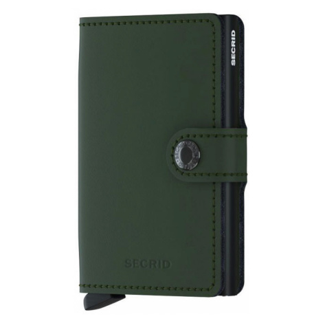 Secrid Miniwallet Matte Green-Black-One size zelené MM-Green-Black-One size