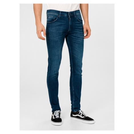 X.L.I.T.E Jondrill Jeans Replay Modrá