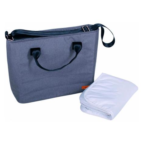 BOMIMI Seba prebaľovacia taška grey melange