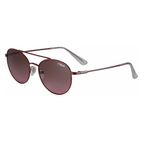 VOGUE Eyewear Slnečné okuliare  krvavo červená